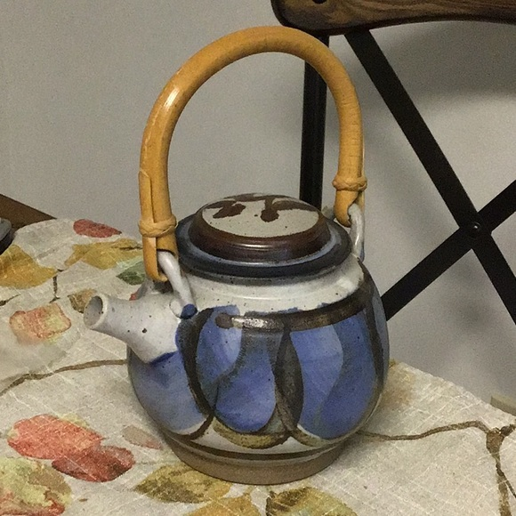 Vintage Other - Pottery Teapot